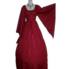 I think I need a red outfit...Kathryn Chemise Gown