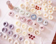 """1,162 Likes, 17 Comments - Butter cream flower cake&class (@kimncake) on Instagram: """"❤️…"""""""