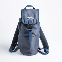 Air Lift Oxygen Backpack Navy Portable O2 Carrier D Sized Tanks 26N #AirLift