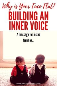 Why is Your Face Flat? Building an Inner Voice... • Two Boys One Pup  Why I think it's important to help your child build an inner voice, and to assist the growth of their self confidence. Confidence in children is both a key to their success, and yours as a parent.