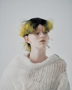 Dye My Hair, Hair A, Bad Hair, Mullet Hairstyle, Photographie Portrait Inspiration, Aesthetic People, Hair Reference, Coloured Hair, Afro Hairstyles