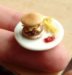 Artista crea comida miniatura hecha de plastilina - Antidepresivo