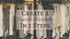 A capsule wardrobe can make your life easier by saving you time, money, and space in your closet. And it will lessen the stress of deciding what to wear!