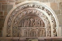 North Tympanum Credit: Holly Hayes        The Basilique Ste Madeleine on Sacred Destinations