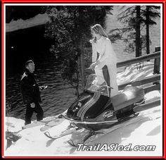 Trail-A-Sled - Worked for Scorpion. Vintage Scorpion Snowmobiles.