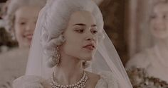 """catherine-the-great-tv: """" """"Catherine the Great - Episode Young Catherine Alexeevna (later Catherine the Great) on her widding with Grang Duke Peter Feodorovich of Russia. Queen Aesthetic, Aesthetic Gif, Wedding Dresses London, Rococo Fashion, Catherine The Great, Historical Women, Marie Antoinette, Character Inspiration, Off The Shoulder"""
