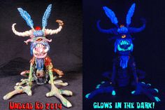 Feywild Fairy Goblin Pipe by Undead Ed Glows In The by Zoombiez