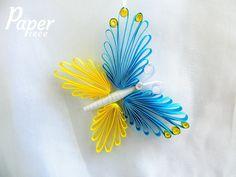 Ornamento della farfalla farfalla mobile farfalla di PaperPieceArt