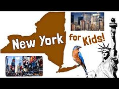 This US States learning video for kids explores facts about New York! The State of New York is also called the Empire State. Learn about New York City, Alban. Traveling Alone Quotes, Travel Alone, New Zealand Country, 4th Grade Social Studies, U.s. States, United States, Facts For Kids, I Love Ny, Travel Usa
