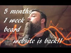 Beard Growth and website Back !