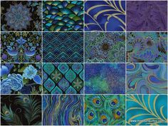 Enchanted Plume Charm Pack - Timeless Treasures - Timeless Treasures — Missouri Star Quilt Co. Panel Quilts, Quilt Blocks, Peacock Fabric, Quilting Designs, Quilting Ideas, Butterfly Quilt, Easy Quilt Patterns, Jellyroll Quilts, Scrappy Quilts