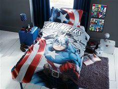 captain america bedroom captain america bedroom decor stripes bedding the 10988