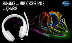 It's time to enhance your #Music experience with QHM885 Headphone!! #QuantumHiTech