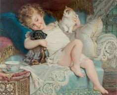 Emile Munier - Three Friends   - Sadie lol   @Jenn L rethman