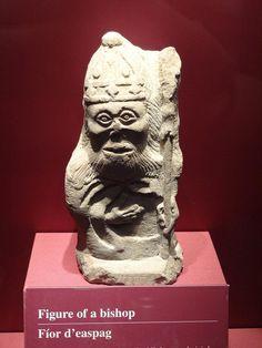 Museum of Archaeology, Dublin, Ireland Ancient sculpture