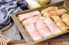 Waanzinnige witlofstamppot uit de oven met ham is een uitstekend gerecht om de week mee te beginnen. Maken of een andere ovenschotel? Kijk op BonApetit! Food L, Good Food, Yummy Food, Holland, Dutch Recipes, Slow Cooker, Food And Drink, Veggies, Favorite Recipes