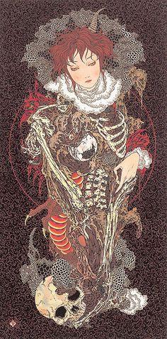 Takato Yamamoto: Takato Yamamoto (1960) is one of the foremost practitioners of the neo ukio-e.