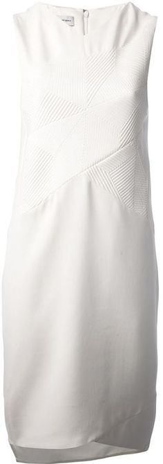 White Shift Dress by Narciso Rodriguez. Buy for $1,049 from farfetch.com