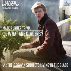 New Maze Runner: The Death Cure stiil featuring Newt!