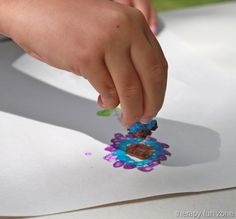 Painting With Tiny Sponges — Therapy Fun Zone