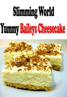 Slimming World's Yummy Baileys Cheesecake - Slimming recipes syn free - Recetas Slimming World Cheesecake, Slimming World Deserts, Slimming World Speed Food, Slimming World Lunch Ideas, Slimming World Puddings, Slimming World Dinners, Slimming World Recipes Syn Free, Slimming Eats, Baileys Cheesecake