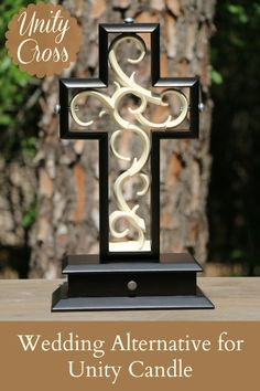 Unity Cross - wedding ceremony alternative for unity candle