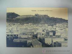 Antigua postal de Tetuán, La Alcazaba y el barrio moro (Ed. M. Arribas)