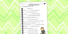 Using Personal Pronouns Worksheet - personal, pronouns