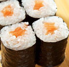 Maki sushi con salmone | Hosomaki.it.it