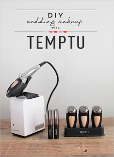 TEMPTU airbrush makeup - a great tool for the whole bridal party!