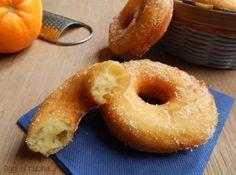 Ciambelle di patate all'arancia-ricetta senza uova