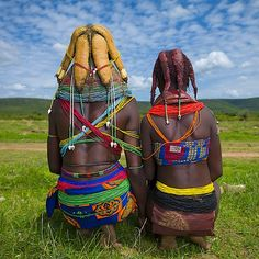 Mwila tribe - Angola_ Eric Lafforgue_ Mwila women are also famous for their… Eric Lafforgue, Black Is Beautiful, Beautiful World, Beautiful People, Beautiful Children, Beautiful Images, We Are The World, People Around The World, African Beauty