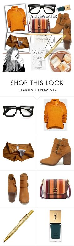 """Cozy Fall Sweaters"" by orietta-rose ❤ liked on Polyvore featuring ZeroUV, Marques'Almeida, Chloé, Steve Madden, Tory Burch, Yves Saint Laurent and fallsweaters"