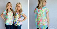 FLoral Summer Blouse