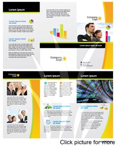 Vistaprint Business Card Template Illustrator Awesome Free Business Vector Brochure Template In Illustrator Brochure Templates Free Download, Business Newsletter Templates, Flyer Design Templates, Microsoft Word Free, Business Brochure, Corporate Brochure, Brochure Design, Illustrator, Words