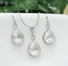 Wedding Jewelry Bridesmaid Jewelry Bridesmaid by earringsnation