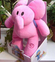 New NIP Preschool Play Pocoyo Plush Dolls Best Gift 10 inch Elly   eBay
