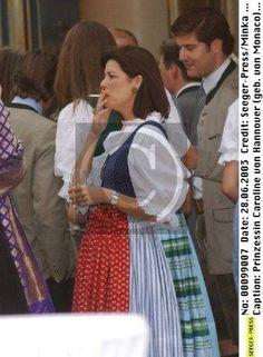 Princess Caroline of Monaco media gallery on Coolspotters. See photos, videos, and links of Princess Caroline of Monaco. Caroline Von Monaco, Princesa Carolina, Princess Grace Kelly, Monaco Royal Family, Princess Madeleine, Royal Jewels, Traditional Dresses, See Photo, Royals