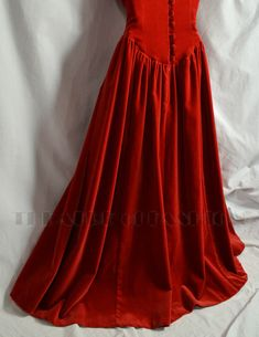 Vintage Laura Ashley Velvet Dress