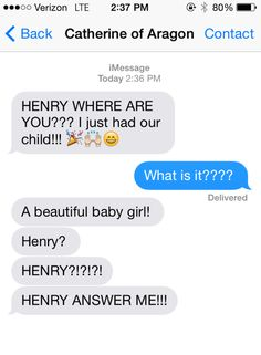 Here's What Would Have Happened If Henry VIII Had Texting