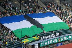 Go to a Cascadia cup soccer match in Portland