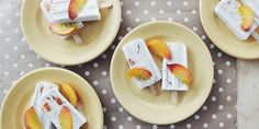 Our Chia Peaches and Cream Pops are a must try this summer! Perfect for the kids. – I Quit Sugar