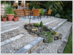 32 Beautiful Small Rock Gardens You Need To See , Unless, obviously, your garden gets rife with disease. The botanical garden is allegedly the best in the planet, therefore it's worth budgeting so. Beach Gardens, Small Gardens, Outdoor Gardens, Landscaping On A Hill, Landscaping Ideas, Rock Garden Design, Garden Projects, Garden Ideas, Backyard Ideas
