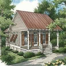 ... and Cottages on Pinterest | Shotgun House, Tiny House and Cabin Plans