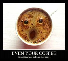 surprised coffee! so funny