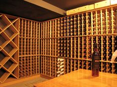 Wine Cellar in the Vader House