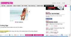 Our Bandeau Monokini feautured in the summer online issue of Cosmopolitan for latinas!!  http://www.cosmopolitan.com/cosmo-latina/christina-milian-swim-photoshoot#slide-1