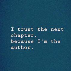 Jeg er trygg på neste kapittel, for det er jeg som er forfatteren. Next Chapter, Trust Me, Author, Movie Posters, Film Poster, Writers, Film Posters
