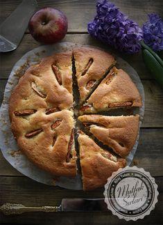 Elma Dilimli Tarçınlı Kek