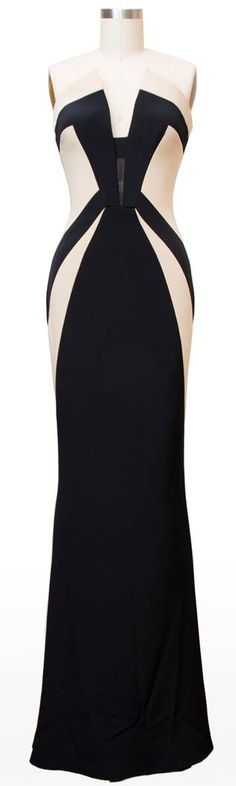 scandal fashion black cream dress olivia pope season 3